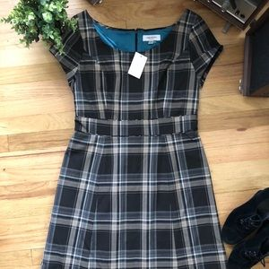 Issac Mizrahi RTW plaid dress NWT size 12